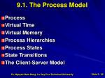 9 1 the process model