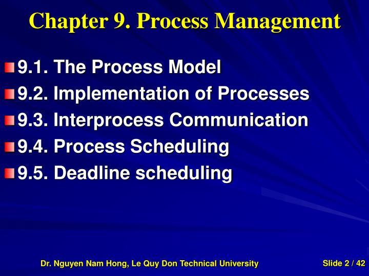 Chapter 9. Process Management