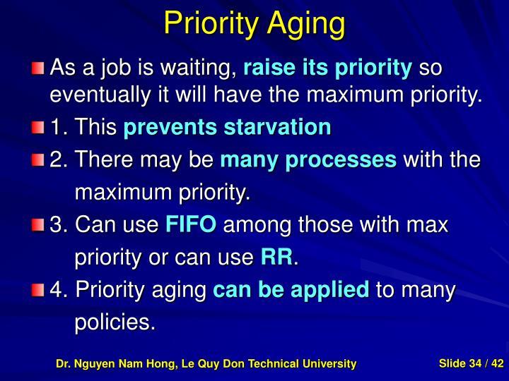 Priority Aging