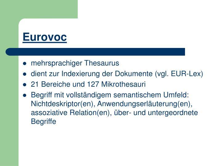 Eurovoc