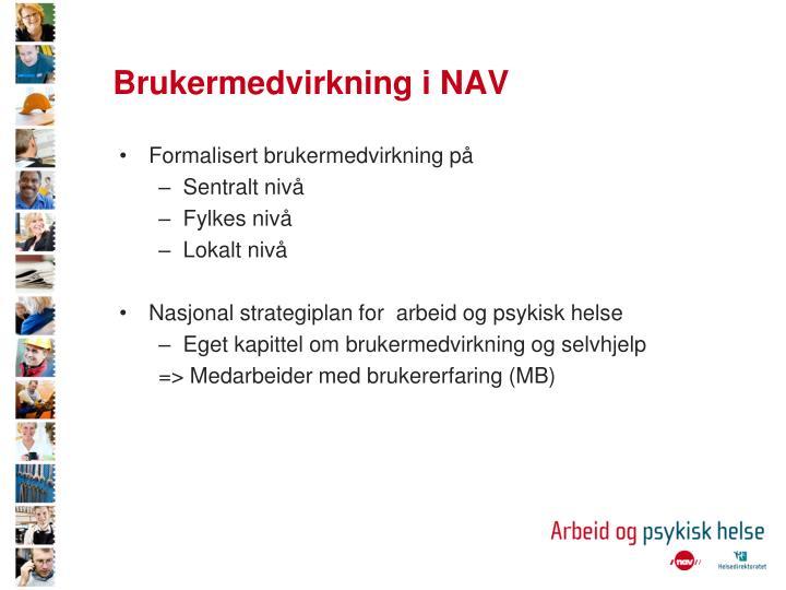 Brukermedvirkning i NAV