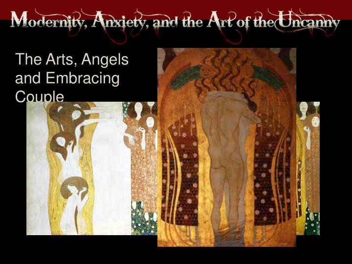 The Arts, Angels and Embracing Couple