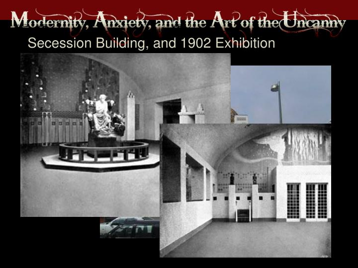 Secession Building, and 1902 Exhibition
