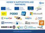 aegee s supporters and partners
