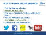 how to find more information
