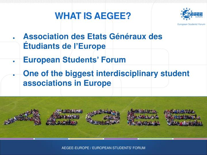 What is aegee1