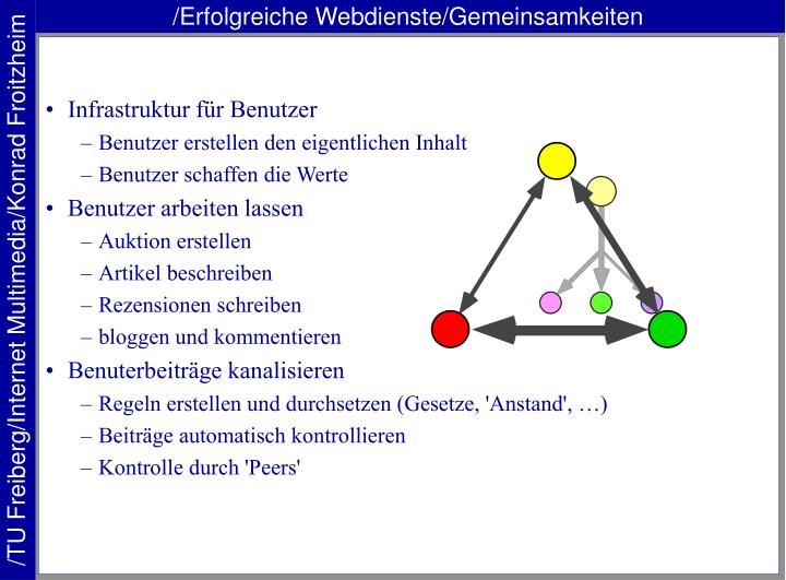 /Erfolgreiche Webdienste/Gemeinsamkeiten