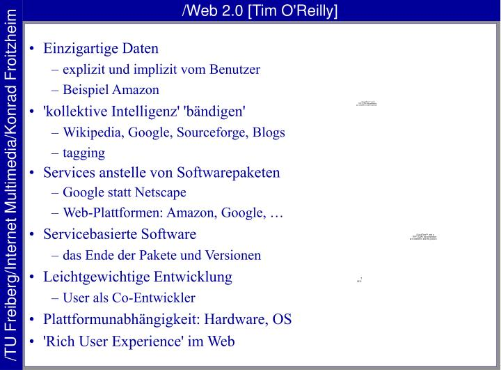 /Web 2.0 [Tim O'Reilly]