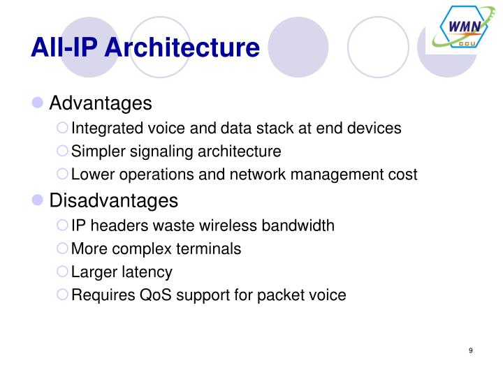 All-IP Architecture