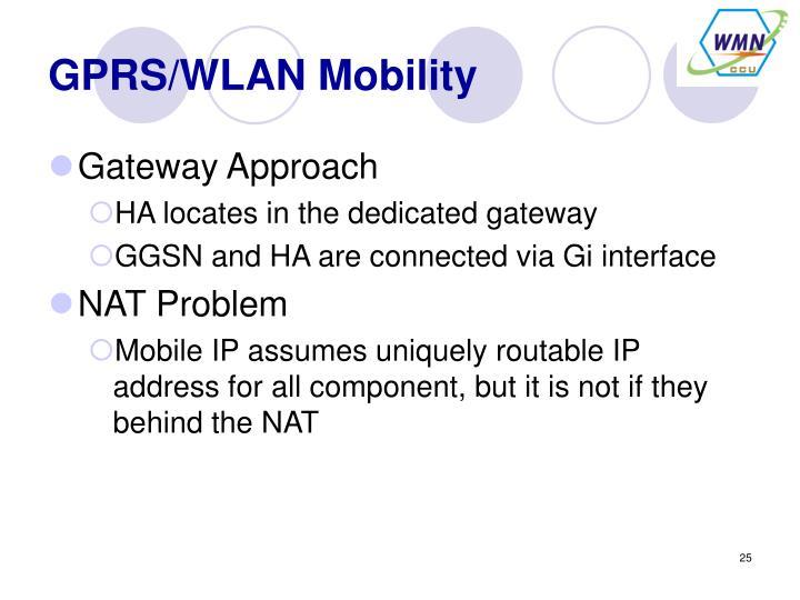 GPRS/WLAN Mobility