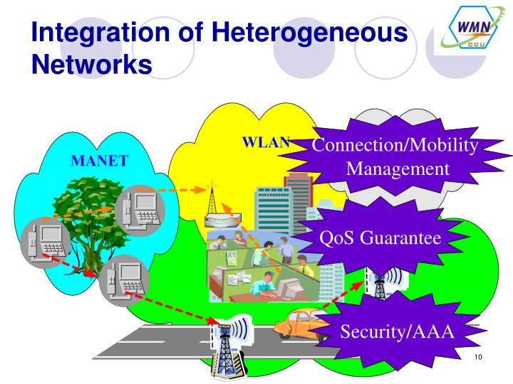 Integration of Heterogeneous Networks