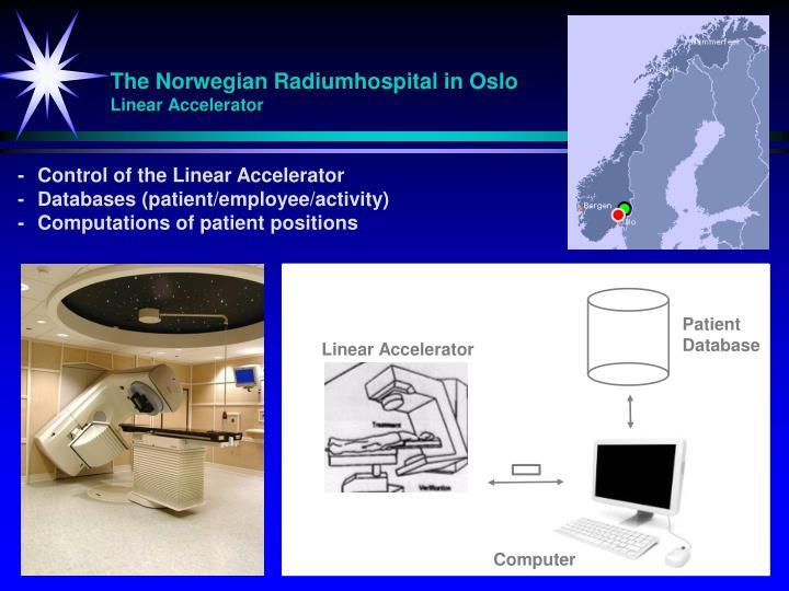 The Norwegian Radiumhospital in Oslo
