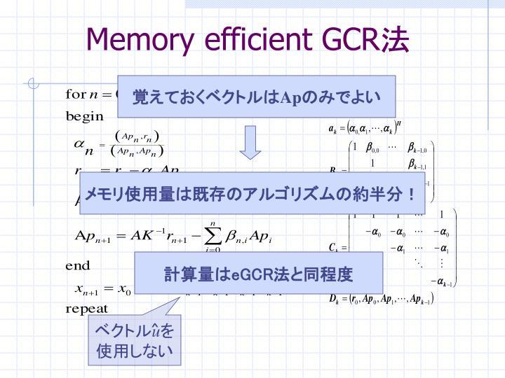 メモリ使用量は既存のアルゴリズムの約半分!