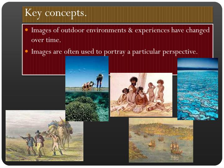 Key concepts.