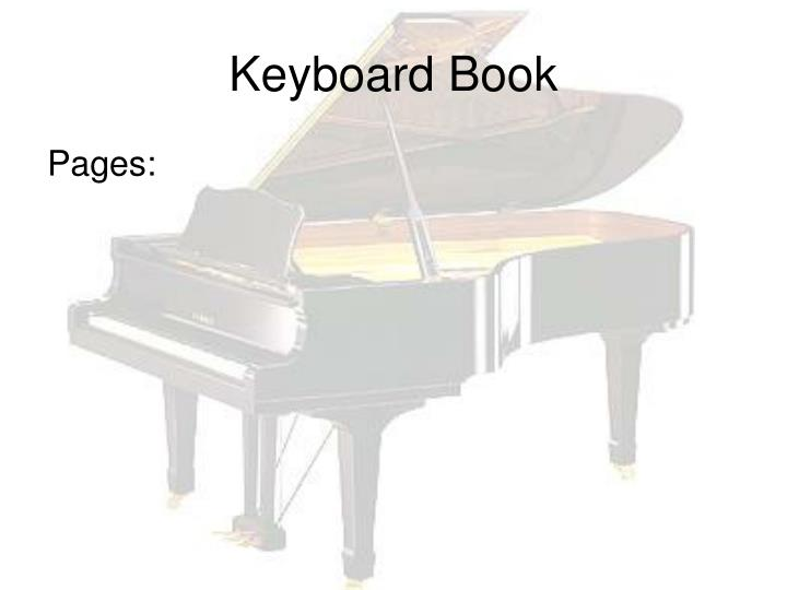 Keyboard Book