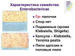 enterobactericae