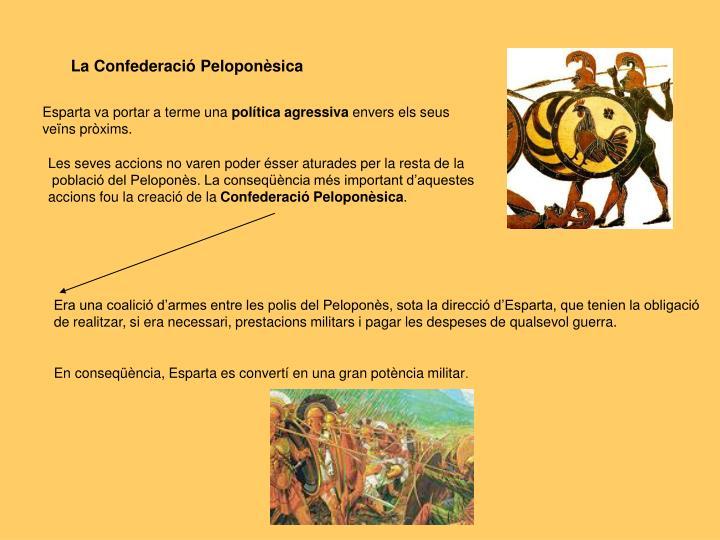 La Confederació Peloponèsica