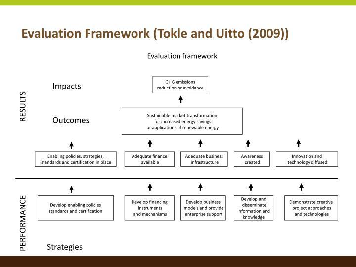 Evaluation Framework (