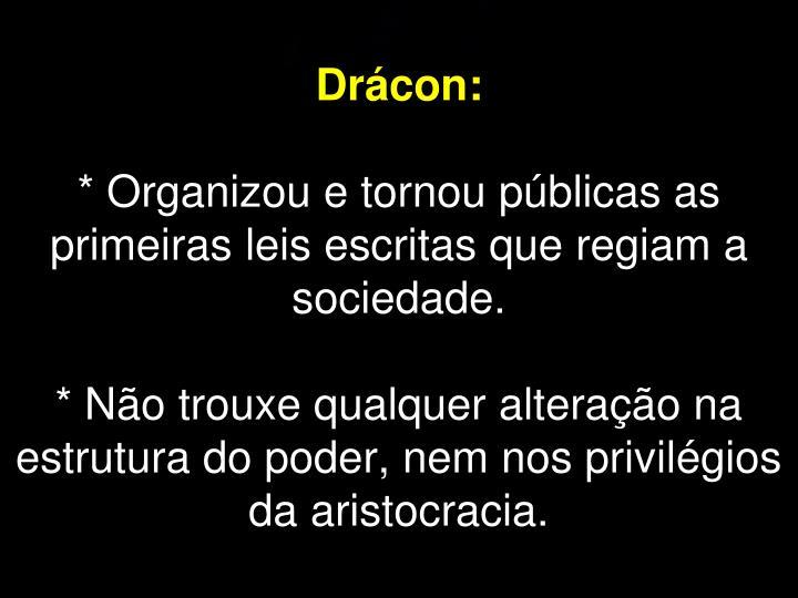 Drácon: