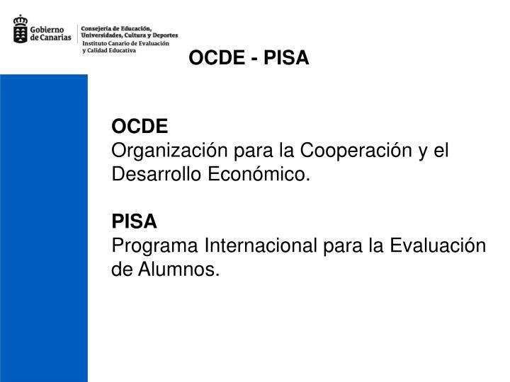 OCDE - PISA