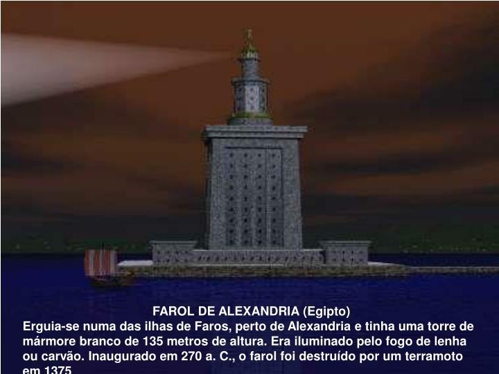 FAROL DE ALEXANDRIA (Egipto)