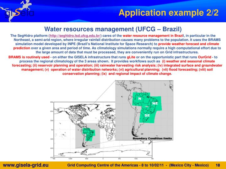 Water resources management (UFCG – Brazil)