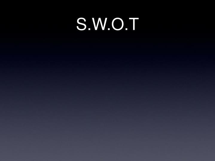 S.W.O.T