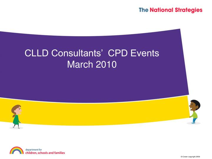 Clld consultants cpd events march 2010