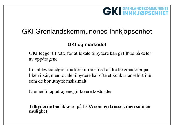 GKI Grenlandskommunenes Innkjøpsenhet