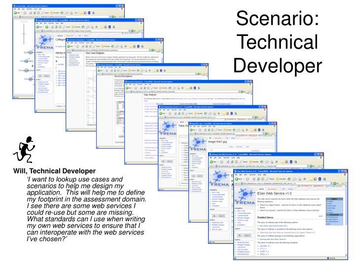 Scenario: Technical Developer