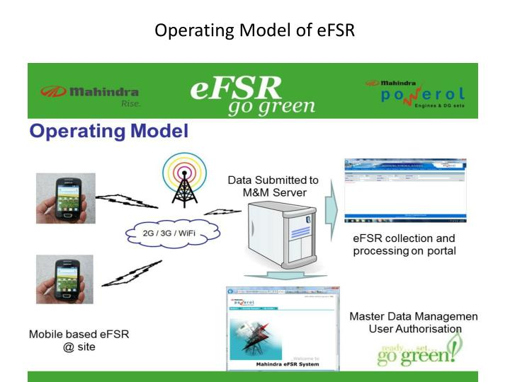 Operating Model of