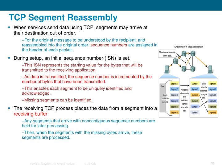 TCP Segment Reassembly