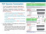 tcp session termination