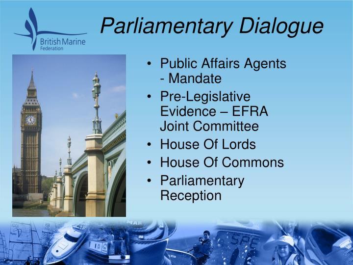 Parliamentary Dialogue