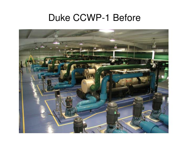 Duke CCWP-1 Before