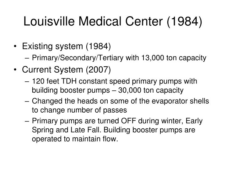 Louisville Medical Center (1984)