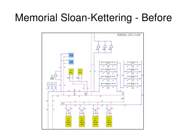 Memorial Sloan-Kettering - Before