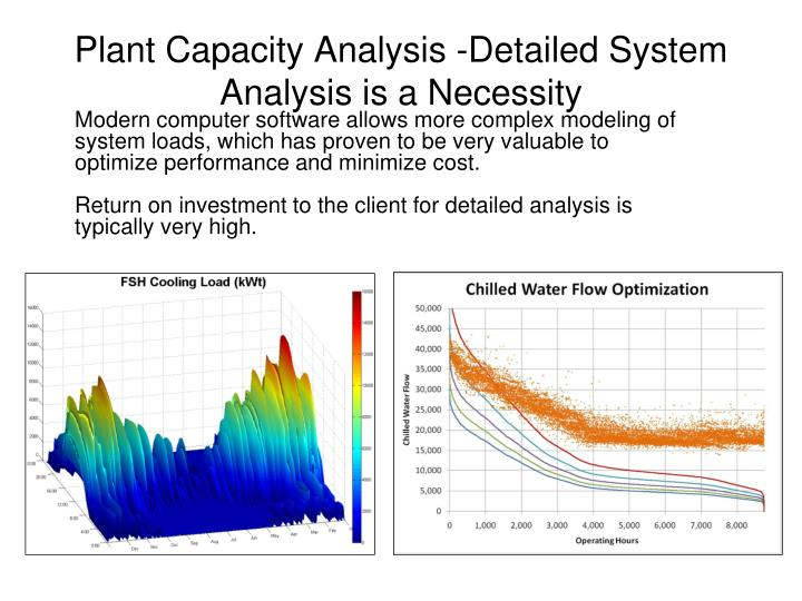 Plant Capacity Analysis -Detailed System Analysis is a Necessity