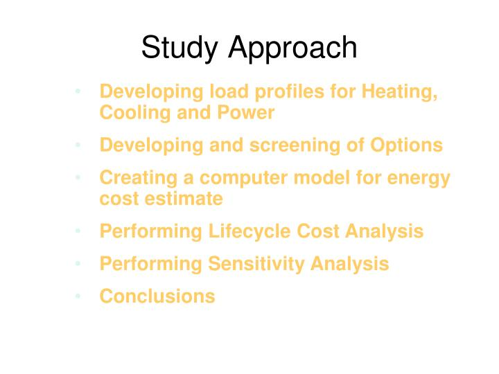 Study Approach