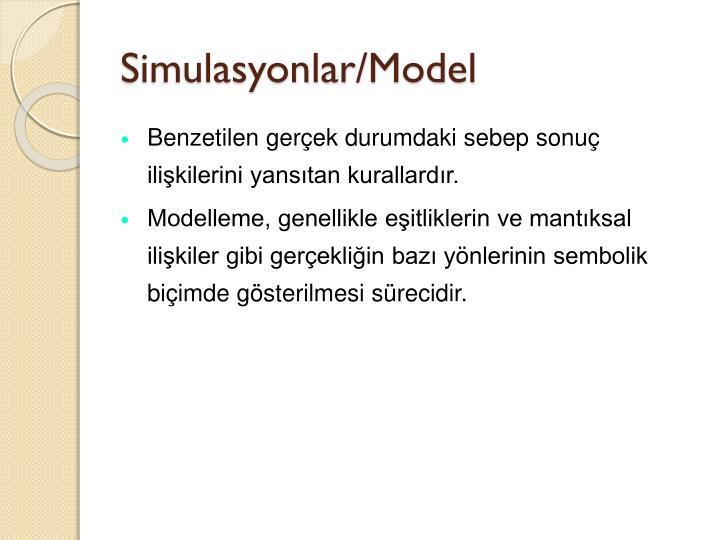 Simulasyonlar