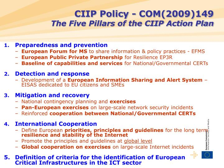 CIIP Policy -