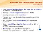 network and information security challenges