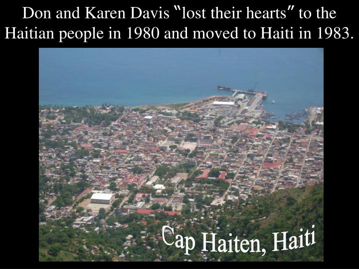Don and Karen Davis