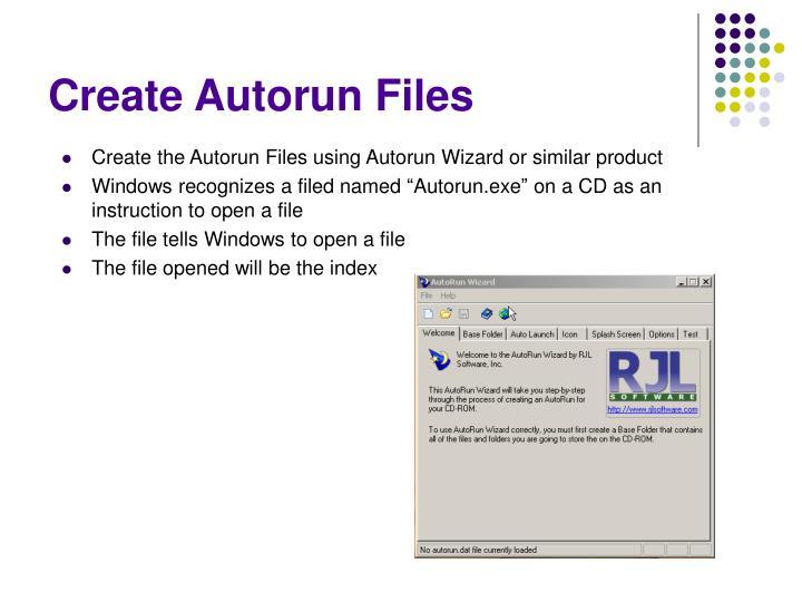 Create Autorun Files