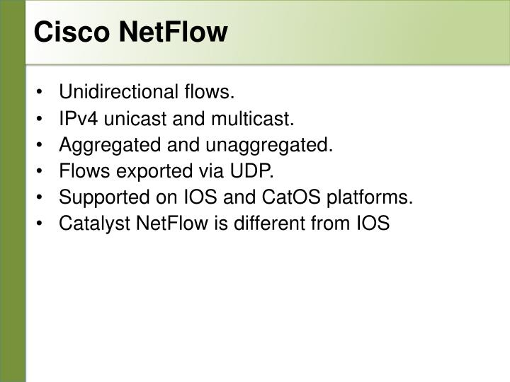Cisco NetFlow