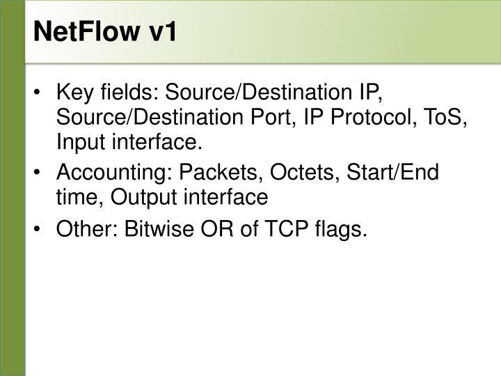 NetFlow v1