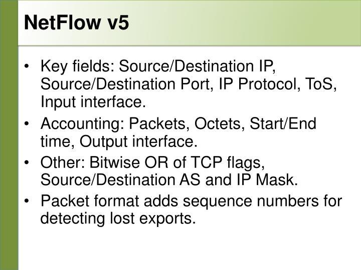 NetFlow v5