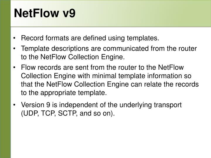 NetFlow v9