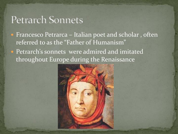 Petrarch Sonnets