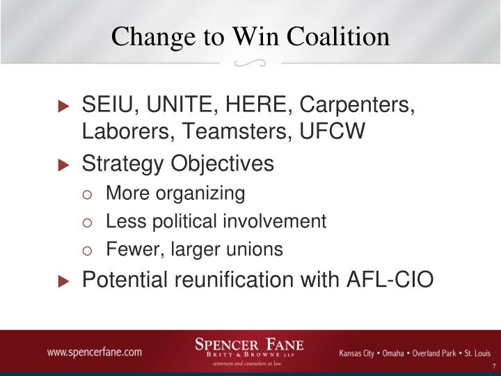 Change to Win Coalition